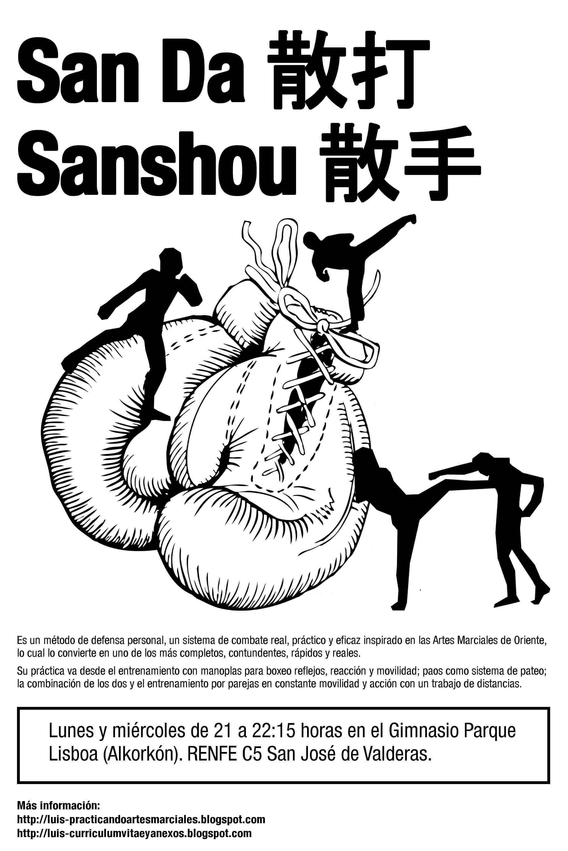 San Da (散打) oSan shou (散手) es unarte marcial chino contemporáneo y un sistema dedefensa personal. El San Da es la modalidad deportiva y competitiva del wushu en la categoría […]