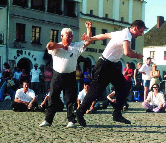 Ma Jiangbao and Martin Boedicker in Kazimierz