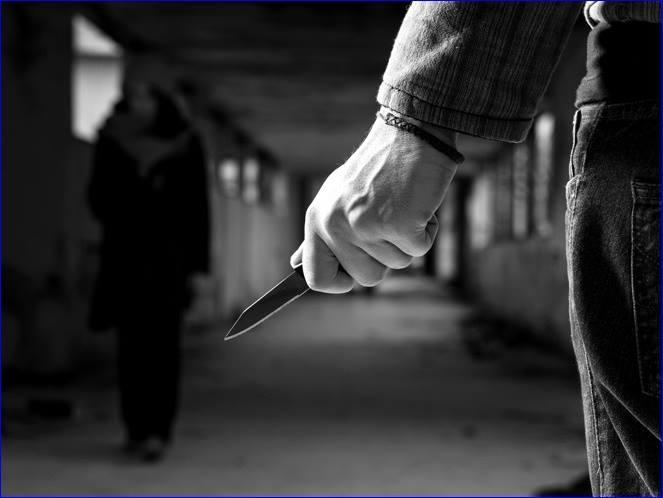 cuchillo en la calle